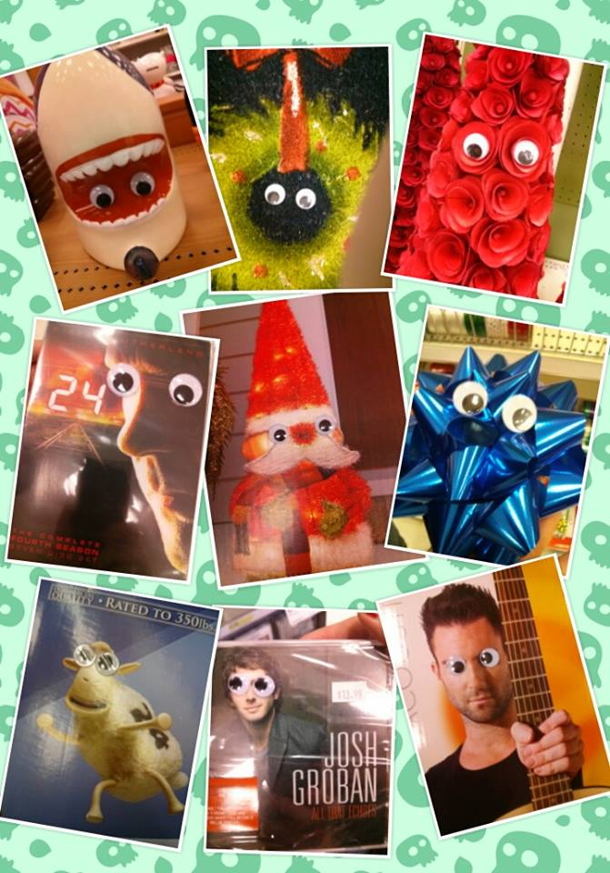googly collage