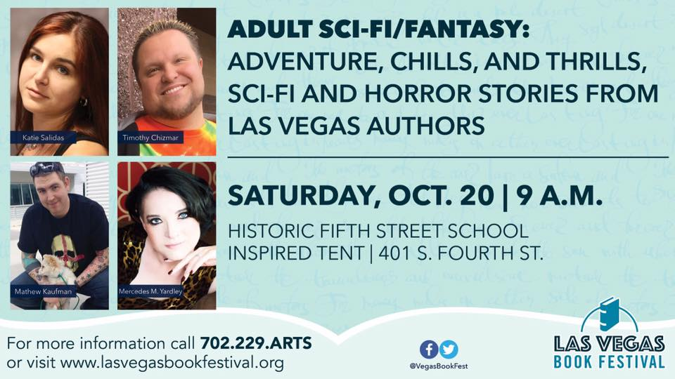 Come to the Book Festival and Our Panel Tomorrow!