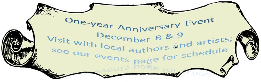 Anniversary Signing at Copper Cat Books! Come see me!