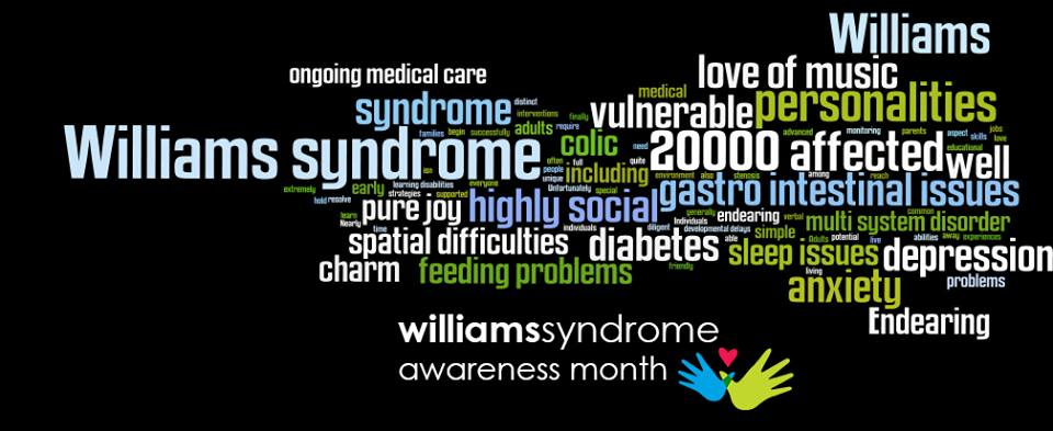 May Is Williams Syndrome Awareness Month!