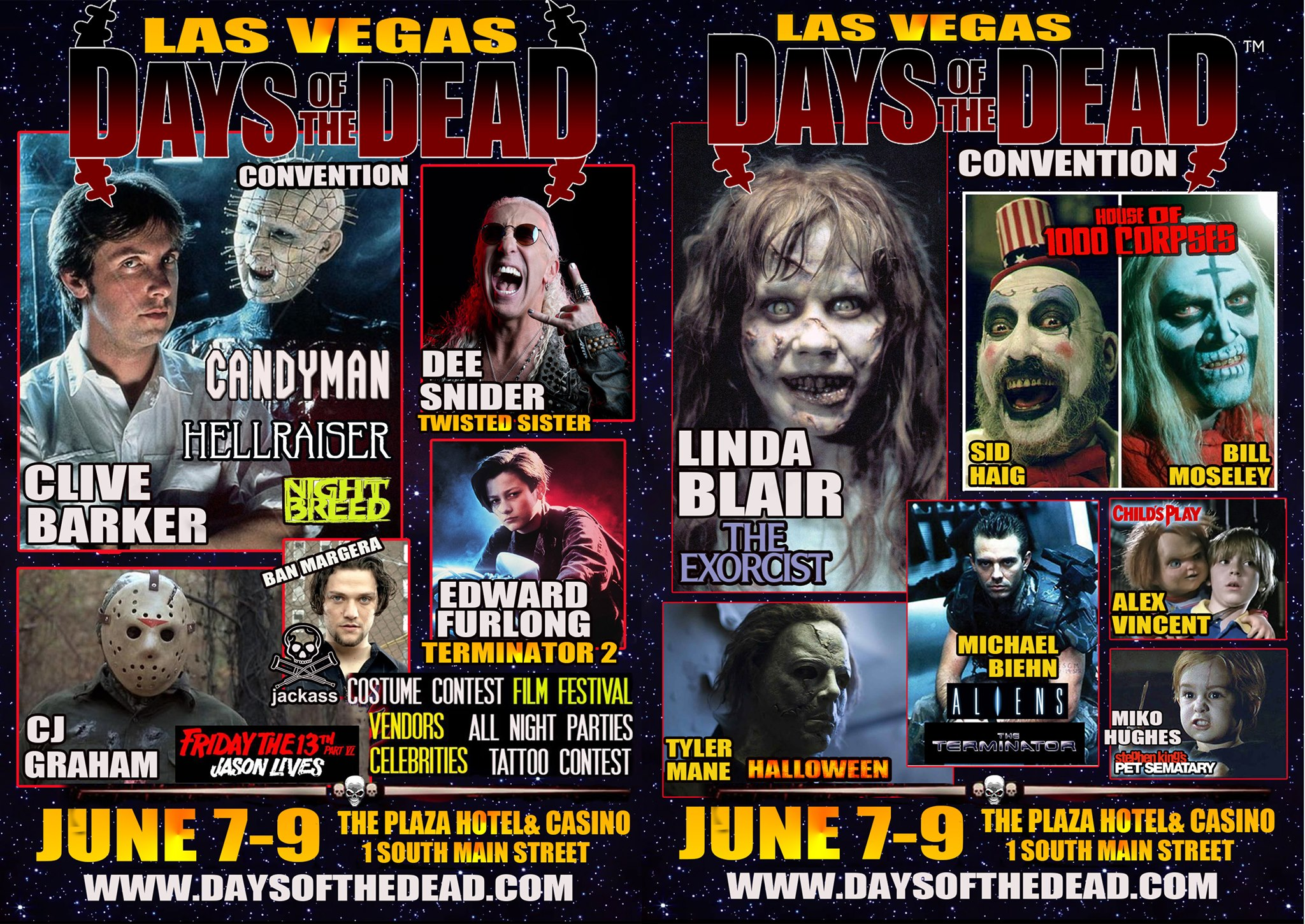 See Fantastic Horror Peeps (and Me!) at Days of the Dead Las Vegas!
