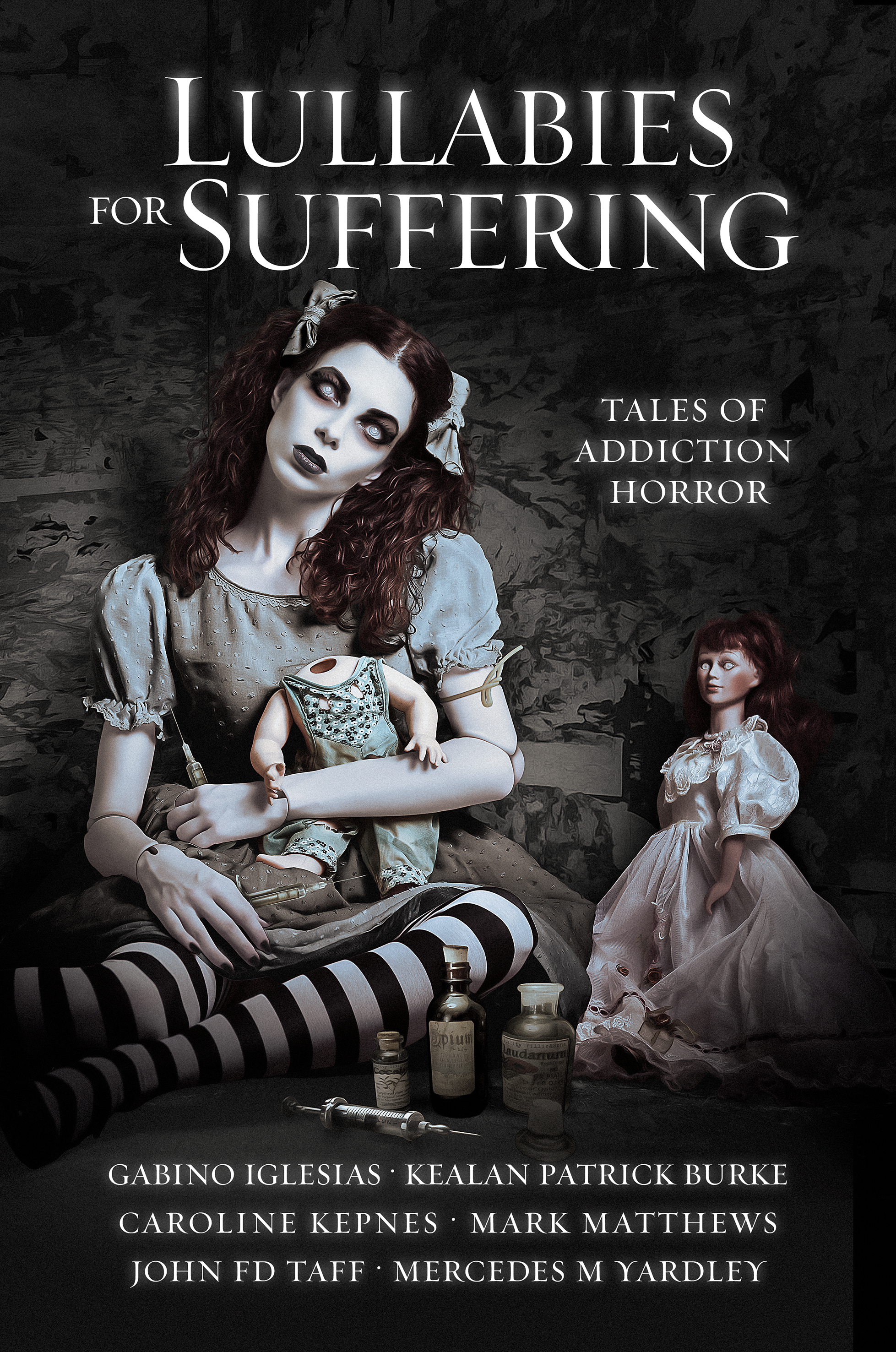 """Lullabies for Suffering"" Is Now Available! And Preorder the Hardcover!"