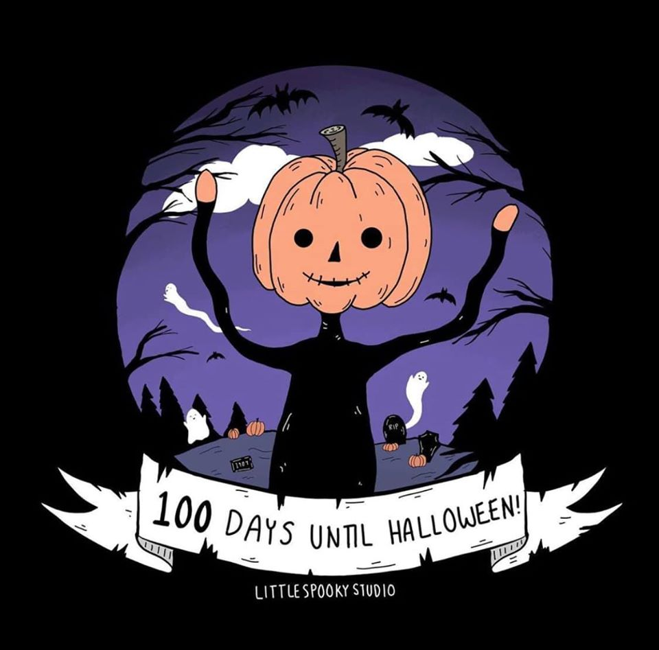 Hey. It's 100 Days Until Halloween